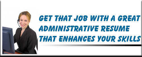 Administrative Resume Service