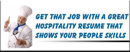 Hospitality Resume Service