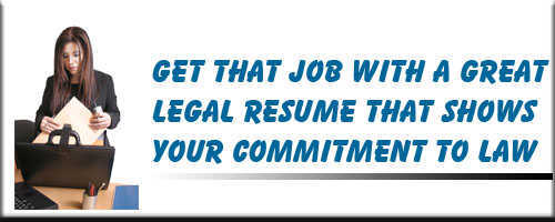 Legal Resume Service