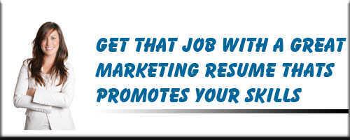 Marketing Resume Service