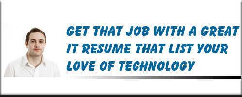 Technology Resume Service