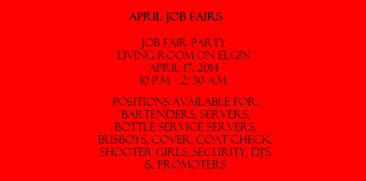 Job Fairs in April